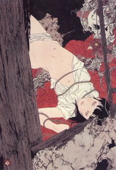 Takato Yamamoto - Touch of Magic - scan from Rib Of A Hermaphrodite