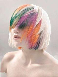 Tendenze capelli, le foto dei colori trendy per la primavera 2012 - Colore capelli primavera 2012: meches colorate