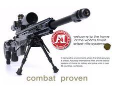 Accuracy Intl' AX .338 Lapua Sniper Rifle