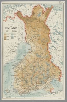 Historical Maps, Helsinki, Finland, Vintage World Maps, History, Cartography, Historia