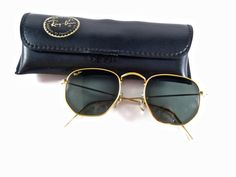 Ray-Ban Arista gold classic W0980 WXAS Made in USA. by holdenism