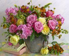 Marianna Lokshina - Summer Bouquet_LMN20816