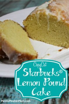 Mmmm.......lemon........    This tastes just like the scrumptious lemon pound cake you can purchase at Starbucks (without the cost)!!
