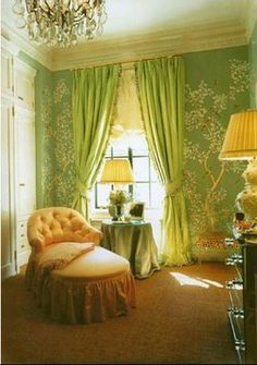 Aerin Lauder's Dressing room/closet as seen in Vogue, Jan 2001
