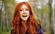Irish Red Hair Green Eyes | To live is the rarest thing in the world. Most people exist, that ...