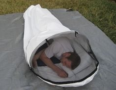 MilesGear - Uber Bivy - I have one of these and they are absolutely bombproof! Todo Camping, Camping Car, Camping And Hiking, Camping Survival, Camping With Cats, Camping Hacks, Camping Life, Ultralight Sleeping Bag, Backpacking Sleeping Bag