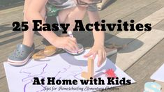Here are 25 practical, easy, and fun activities you can do at home to keep learning fresh and engaging while homeschooling, doing remote learning or distance learning.  Most of these do NOT rely upon technology--they utilize common household items or experiences!  STEM, STEAM, science-inquiry, literacy skills, letter recognition, letter sounds, phonics skills, writing, spelling, reading, arts and crafts, and fun! preschool, pre-k, kindergarten, first grade, second, third. Remote teaching… Fun Activities To Do, Literacy Activities, Teaching Resources, Teaching Ideas, Kindergarten Readiness, Literacy Skills, November Holidays, September, Grade My Teacher
