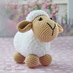 We are here with the amigurumi crochet patterns we sha. Hello amigurumi lovers… We are here with the amigurumi crochet patterns we share everyday. Crochet Sheep Free Pattern, Crochet Animal Patterns, Stuffed Animal Patterns, Crochet Patterns Amigurumi, Amigurumi Doll, Crochet Dolls, Free Crochet, Bead Patterns, Weaving Patterns