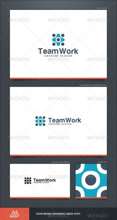 Team Work Logo Template  #GraphicRiver          Team Work Logo Template Description Versatile Team Work Logo Template. This design could be used for different purposes for a company, product, or for a service.  Package Content:  One awesome logo  Full color logo and black and white logo  AI file (for Illustrator CS or higher)  EPS file (for Illustrator / Corel Draw / Freehand)  Help document with download link of the font used  Font:  Harabara (free font is used)  100% Editable & Resizable…