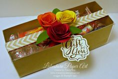 A Gift For You Using the Spiral Flower Originals Die