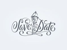 New orleans wedding save the date i'm a typography lover. Wedding Logo Design, Wedding Logos, Fun Wedding Invitations, Wedding Quotes, Invites, Saving Quotes, Save The Date Designs, Typography Love, When I Get Married