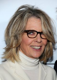 Diane Keaton~ you can just tell she has a devilish spirit... it shows all over her face.