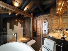 One of eight bathrooms in a French chalet [800x600] - Imgur