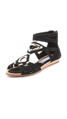 Ivy Kirzhner Babylon Suede Sandals