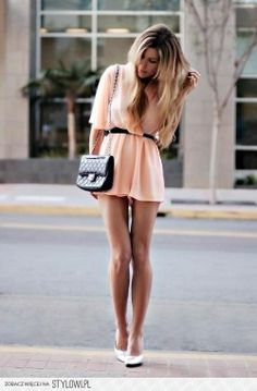 ♥ #pink #dress #summer