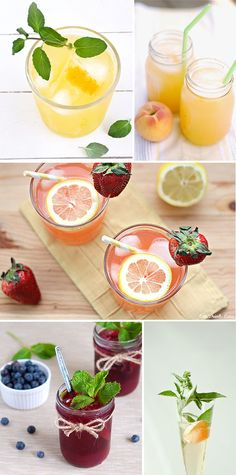 Oh the lovely things: 10 Refreshing Non Alcoholic Drinks