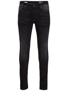 Jeans Intelligence - Skinny-Jeans von JEANS INTELLIGENCE - Low rise - Schmale Oberschenkel- und Knieform - Enger Beinabschluss - Reißverschlusseingriff - 5-Taschen-Stil - Super Stretchqualität - Das Modell trägt Größe 32/32 und ist 187 cm groß - Wir empfehlen, diese Jeans eine Nummer kleiner als sonst zu kaufen, damit sie richtig sitzt 78% Baumwolle, 15% Lyocell, 5% Polyester, 2% Elasthan...