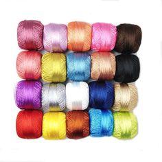 20 pcs.  crochet polyester threads  size 50 Needle Tatting, Needle Lace, Crochet Clutch Bags, Greek Evil Eye, Crochet Accessories, Embroidery Thread, Knitting, Handmade, Etsy