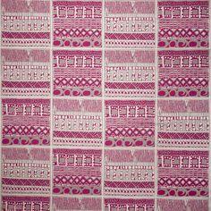 Suajili GDT-5404 004 Frambuesa by Gaston y Daniela fabric