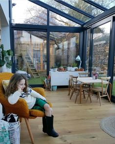 How to extend your home with style, for less than you might think. - How to extend your home with style, for less than you might think. – Alice in Scandiland - House Extension Design, Glass Extension, Extension Designs, Rear Extension, Modern Conservatory, Conservatory Extension, Conservatory Kitchen, Conservatory Playroom, Garden Room Extensions