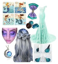 """""""Mermaid Girl"""" by littlebutlovely ❤ liked on Polyvore featuring Disney"""