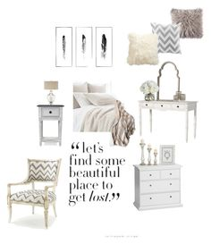 """""""Boudoir"""" by jazzywiles on Polyvore featuring interior, interiors, interior design, home, home decor, interior decorating, Kim Salmela, Pine Cone Hill, Lene Bjerre and Diane James"""