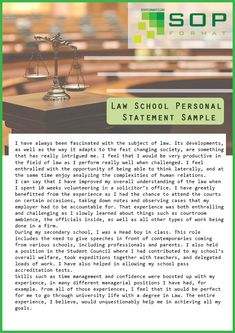 personal statement infographic US News   World Report