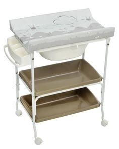 Bañera cambiador dos bandejas King Baby cigüeña [1835CIG] | 98,51€ : La tienda online para tu peke | tienda bebe pekebuba.com