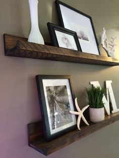 Shelf, gallery wall shelf,Rustic,Picture Ledge shelf, Floating Shelf, Wooden Shelf