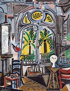 Pablo Picasso (1881-1973), Das Atelier, 1955, Tate, London