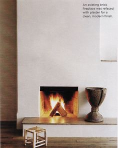 Modern Stucco Fireplace Design, Pictures, Remodel, Decor and Ideas ...