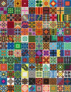 130 Hama perler bead tiles made by Villi.Ingi