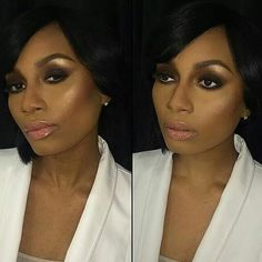 Immaculate makeup