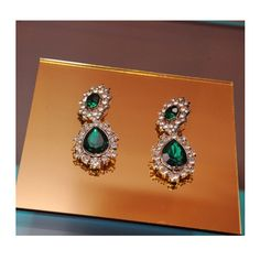 Anna Dello Russo at H Earrings