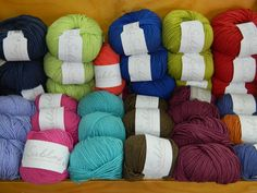 It makes me happy looking at this:) From Browns Bay Wool shop.
