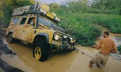 Land Rover DEFENDER 110 / CAMEL TROPHY