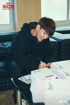 little angel iKON~donghyuk❤ Bobby, Kim Hanbin Ikon, Dancing King, Drama Quotes, Funny Boy, Kim Dong, Dvd Set, Always Smile, Korean Artist