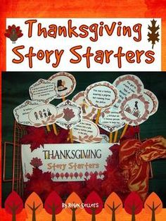 Thanksgiving: Harvest Days and November Story Starters {Common Core Imaginative narrative}
