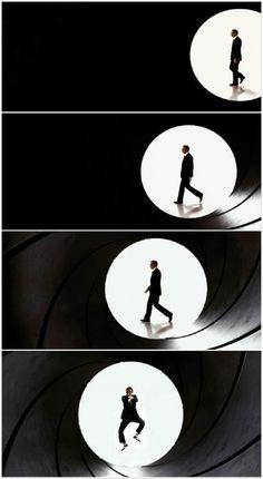 James Bond, wait what..