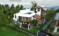 House at Kottawa,Sri lanka  3d Scene made with sketchup vray and adobe photoshop