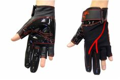Red Parkour Gloves