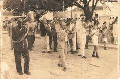 Procissão da Santíssima Trindade em Tiradentes, 1968. Foto de Maria J. Moura.