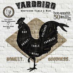 Yardbird Southern Table and Bar  1600 Lenox Ave  Miami Beach, FL 33139  305.538.5220