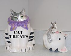 Homemade Cat Treats; recipes to spoil your kitty without spoiling his diet!