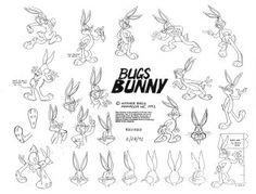 Looney Tunes: 50+ Original Model Sheets