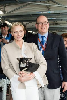 MyRoyals:  Prince Albert and Princess Charlene attended the Monaco Grand Prix, May 24, 2015