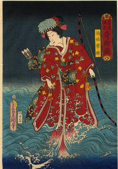 The Wave by Utagawa Kunisada