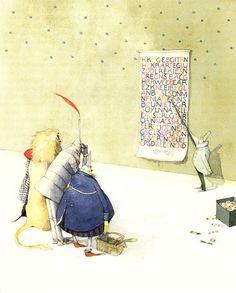 The Wizard of Oz, Reimagined by Beloved Illustrator Lisbeth Zwerger   Brain Pickings