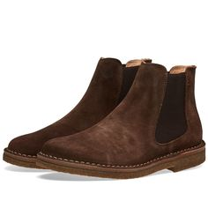 Dark brown boots via end clothing