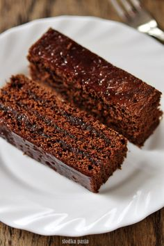 Old Polish gingerbread dark Polish Desserts, Polish Recipes, Baking Recipes, Cake Recipes, Dessert Recipes, Xmas Food, Christmas Desserts, Gingerbread Cake, Different Cakes
